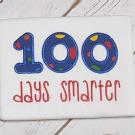 100 Days Smarter Applique
