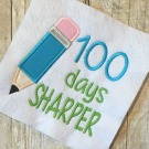 100 Days Sharper Applique
