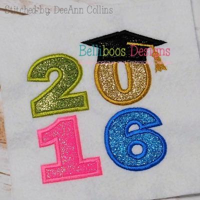 Graduation applique