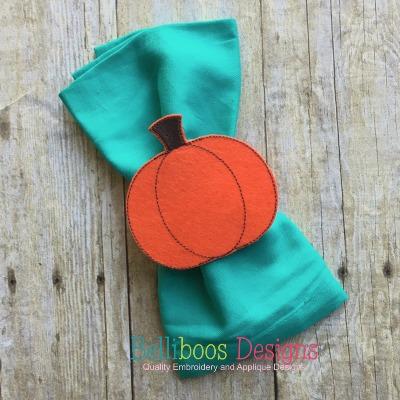 in the hoop embroidery design - pumpkin embroidery design - fall embroidery design - thanksgiving embroidery design - halloween embroidery design