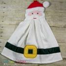In the Hoop Santa Towel Topper