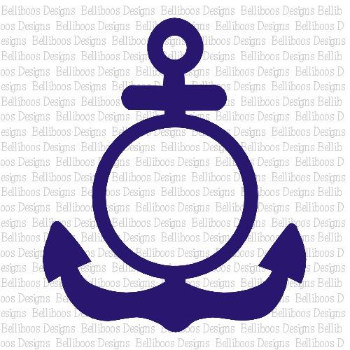 anchor SVG, anchor DXF, nautical SVG, nautical DXF, anchor cut file