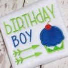 Birthday Boy Embroidery Saying