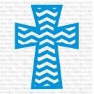 Chevron Cross SVG