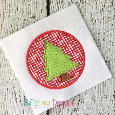 Christmas applique - tree applique - holiday applique - Christmas patch applique - applique design - embroidery design - Christmas Embroidery - holiday embroidery - tree embroidery - christmas tree applique
