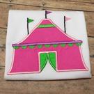 Circus Tent Applique
