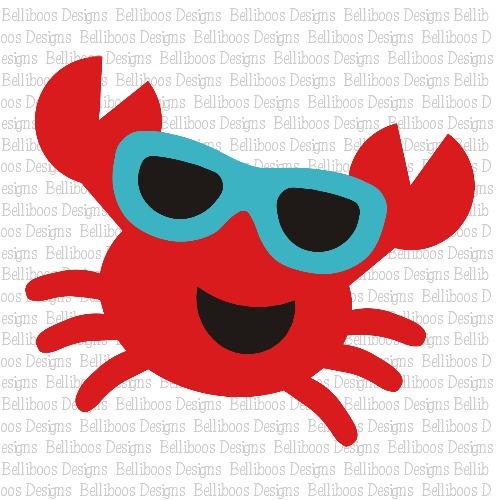 crab SVG, crab DXF, crab cut file