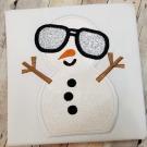 Cool Snowman Applique