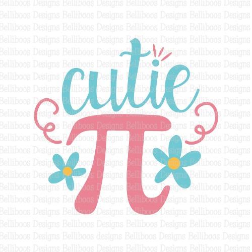 school SVG - school cut file - girl SVG - girl cut file - Pi SVG - pi cut file - geek SVG - geek cut file - cutie pi SVG - cutie pi cut file