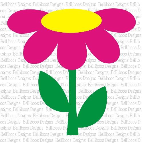 daisy SVG, daisy cut file, daisy DXF, flower SVG, flower cut file, flower DXF
