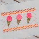 Ice Cream Faux Smock