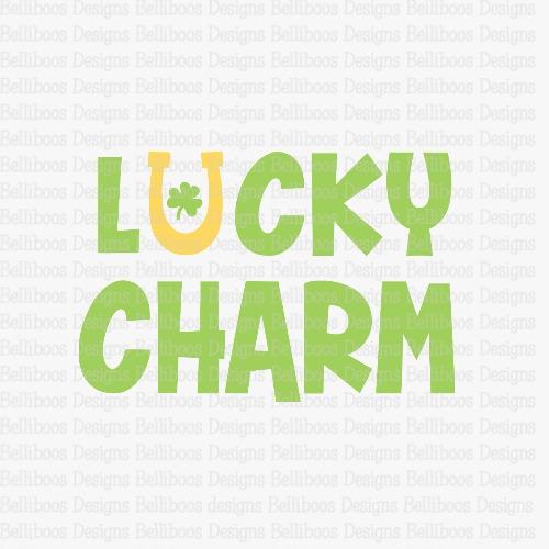 lucky charm SVG - lucky charm cut file - St. Patrick's Day SVG - St. Patrick's Day cut file - shamrock SVG - shamrock cut file