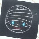 Mummy Line Art