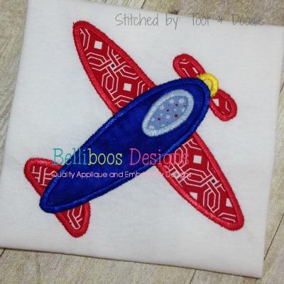 plane applique design airplane embroidery
