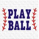 Play Ball SVG