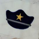 Police Hat Applique