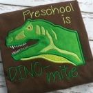 Preschool Dino-mite Applique