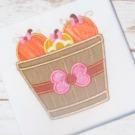 Pumpkins in Basket  Applique