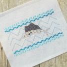 Sailfish Smock Embroidery Design