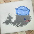 Sailor Whale Applique