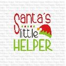 Santa's Helper SVG Cut Files