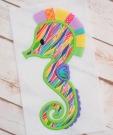 3D Seahorse Applique