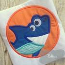 Shark Patch Applique