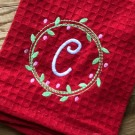Wreath Sketch Embroidery Design
