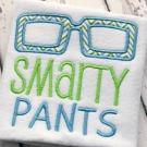 Smarty Pants Applique