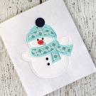 Snowman Applique