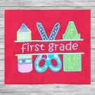 First Grade Split Applique