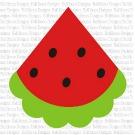 Watermelon Slice SVG