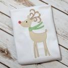 Reindeer Sketch Embroidery Design