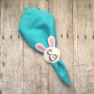 ITH Monogram Bunny Face Napkin Ring