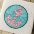 Anchor Patch Applique