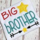 Big Brother Embroidery Saying