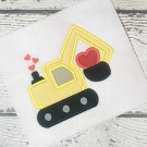 Valentine Digger Applique Design