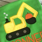 Pumpkin Digger Applique
