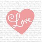 Heart Love SVG Cut File