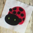 Ladybug 2 Applique