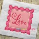 Love Stamp Applique