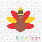 Pilgrim Turkey SVG Cut File