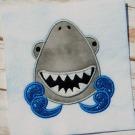 Smiling Shark Applique