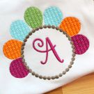 Turkey Monogram Embroidery Frame